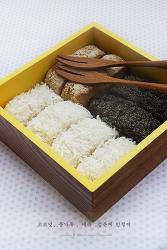 ♥ 밥으로 떡 만들기. 제빵기에 밥을 넣으니 쫄깃한 인절미가 ~ ^^*