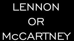 비틀즈(The Beatles)의 존 레논과 폴 매카트니 중 당신은 어느 쪽? (LENNON or McCARTNEY)