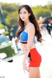 2016 CJ 슈퍼레이스 레이싱모델 한리나 님 (3-PICS)