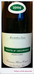 도멘 앙리 구주 뉘 생 조르쥬 2006 (Domaine Henri Gouges Nuits Saint Georges 2006)