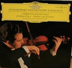 [LP음반] Christian Ferras (크리스티앙 페라스) - 차이코스프키 바이올린 협주곡 (Tchaikovsky Violin Concerto, 카라얀 Karajan + 베를린 필하모니, 1967년)