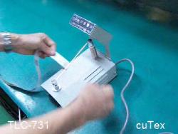 라벨컷팅기중 수동라벨컷팅기 TLC-731입니다.태우정밀이에요~^^