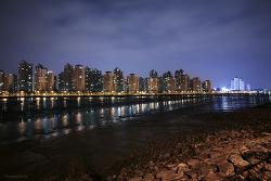 Night view of Soraepogu Incheon 2013