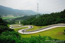 한국의 아름다운 길 / 뱀처럼 구불구불한 지리산 가는 길 / 경남 함양 '지안재(오도재)'