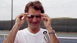 로저 페더러의 1인칭 시점을 체험해보자! - 구글 글래스(Google Glass)를 끼고 테니스 연습을 하는 로저 페더러(Roger Federer)와 스테판 에드베리(Stefan Edberg) 구글 글래스 바이럴 영상(Viral Film).