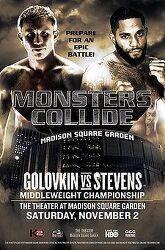 Gennady Golovkin vs Curtis Stevens 2013-11-02