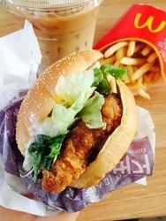 맥도날드 크리스피 오리엔탈 치킨버거 맛은?