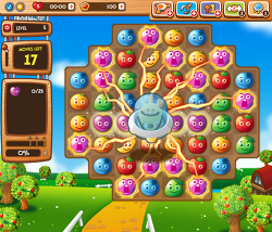 페이스북 3match게임 Fruit Planet