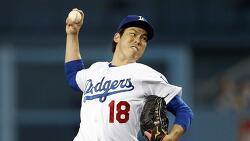 마에다 겐타 vs 류현진, 다저스 왼손 투수