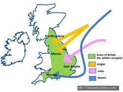[영국역사 살펴보기] Part 2. 게르만족의 대이동