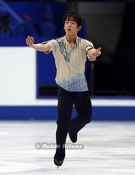 남자 프리 - 김진서 16위, 하뉴 유즈루 우승
