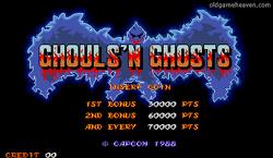 마메 게임 - 대마계촌 (Ghouls 'N Ghosts)