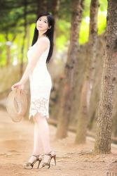 흰색드레스가 너무 이쁜 그녀 MODEL: 연다빈 (6-PICS)