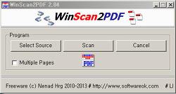 스캔 PDF 저장 프로그램