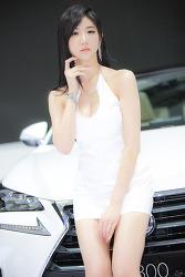 2014 부산모터쇼 올리머리를 한 그녀 MODEL: 연다빈 (10-PICS)