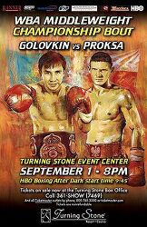 Gennady Golovkin vs Grzegorz Proksa 2012-09-01