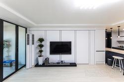 수원인테리어 화서동 위브하늘채 45평 아파트 리모델링