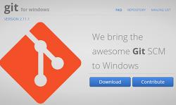 [Git]git for window 설치