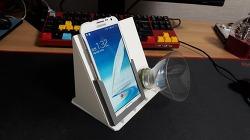 스마트폰 스피커 자작 - 패트병스피커 (plastic bottle speaker DIY)