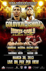 Gennady Golovkin vs Nobuhiro Ishida 2013-03-30