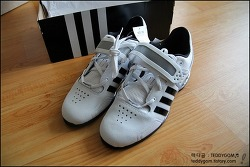 [완료][ROGUE FITNESS] Adidas Adipower Weightlifting shoes(아이다스 역도화)