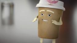 질질 들러붙는 음식과는 쿨하게 헤어지세요! 사라 실버맨(Sarah Silverman)의 오빗 껌(Orbit Gum) TV광고 - '립스틱(Lipstick)'편 [한글자막]
