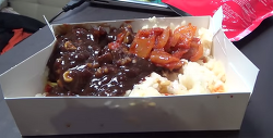 더온 짜장밥, 자체적으로 가열되어서 데워 먹는 전투식량 볶음밥 시식기