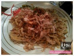 [서울/종로/종각] 한끼 :: 돼지목살 오코노미야끼, 해물 소바메시 철판 볶음밥
