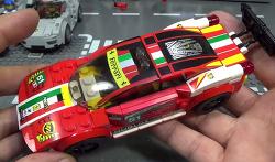 레고 75908 페라리 458 이탈리아 GT2 스피드 챔피언 레이싱 자동차 조립 리뷰 Lego Speed Champion Ferrari 458 Italia GT2