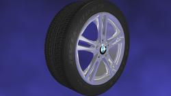 Wheel 모델링 - BMW 타이어