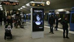 바람이 불면, 광고판 속 모델의 머리카락이 날린다? - Apotek Hjärtat의 디지털 사이니지를 활용한 인터랙티브 옥외광고 'Blowing in The Wind'