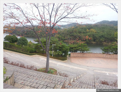 울산 문수월드컵경기장과 옥동저수지