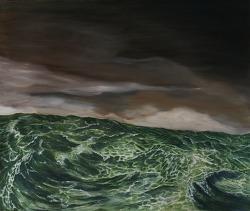 sea 45,5 x 53cm oil on canvas 2015