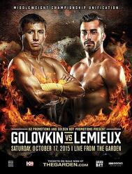 Gennady Golovkin vs David Lemieux 2015-10-17