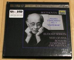 "[CD음반] Rudolf Serkin (루돌프 제르킨) - 베토벤 피아노 협주곡 5번 ""황제"" (Seiji Ozawa + Boston Symphony Orchestra, 세이지 오자와, 1981년)"