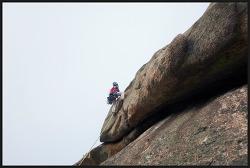 설악산 울산암 신루트 그린나래 등반사진
