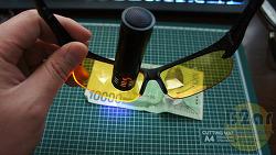 UV LED라이트로 테스트해본 고글 성능