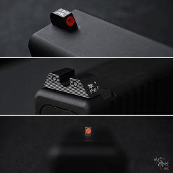 [Iron sight] Trijicon HD™ Night Sight Set for Glock® Pistols