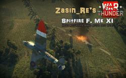 [War Thunder] Zasin_re's Spitfire F Mk. XI GMV