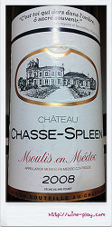 샤또 샤스 스플린 2008 (Chateau Chasse-Spleen 2008)