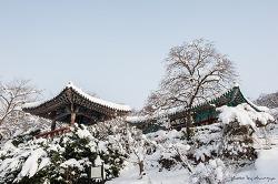 서산 개심사의 겨울