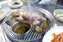 [제주도 서귀포 중문 맛집] 제주도에 왔다면 꼭 먹어봐야 하는 흑돼지 맛집, 근고기로 유명한 중문 <칠돈가>