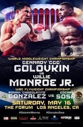 Gennady Golovkin vs Willie Monroe Jr 2015-05-16