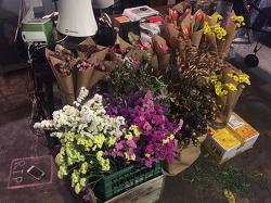 [오늘의커피] 꽃이 가득한 경리단의 그 커피집 / 카페 사루