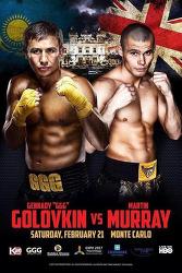 Gennady Golovkin vs Martin Murray 2015-02-21