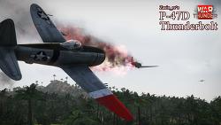 [War Thunder] P-47d 플레이 뮤비 (vs JAPS!)