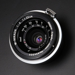 [Nikon]W-Nikkor 2.5cm F4.