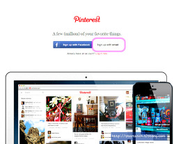 새로운 SNS - Pinterest 핀테레스트 - 가입