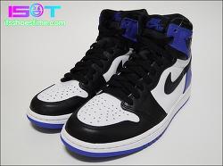 "Air Jordan 1 x Fragment ""Black/Sport Royal"" - IST Review | 에어 조던 1 x 프라그먼트 ""블랙/스포트 블루"" - 잇츠슈즈타임 리뷰"