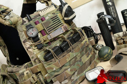 [파우치] Crye Precision AVS™ Detachable Flap M4 Flat.